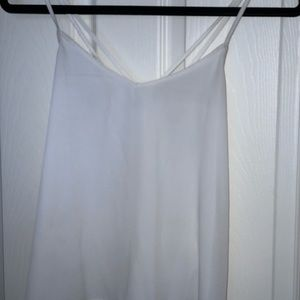 Hollister white tank